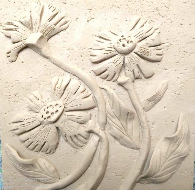 Handmade clay tiles